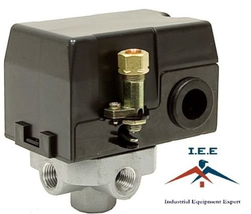 412024-E compatible/replacement Air Compressor Pressure Switch 135 PSI MAC2400 MAC5200 AC700 I.E.E