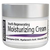 Crema facial anti-edad por Derma-nu – Mejor crema humectante – Tratamiento para la piel para el daño por el sol y arrugas – 2oz
