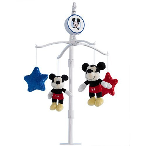 Musical Mobile Disney (Disney Baby Best Friends Mickey Mouse Musical Mobile)