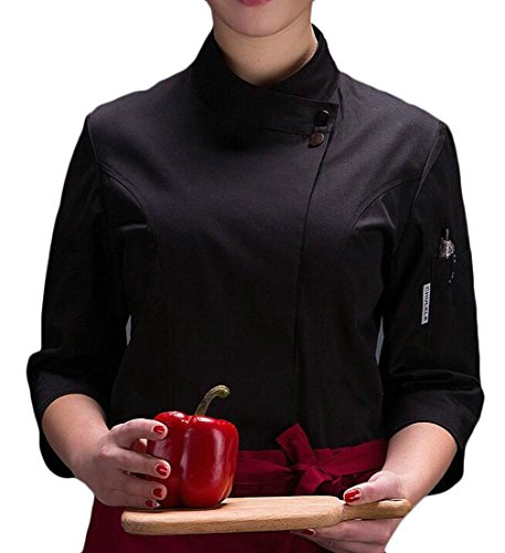 chef black jacket 3 4 - 6