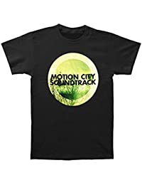 Motion City Soundtrack Men's GO Album Logo Slim Fit T-shirt Black