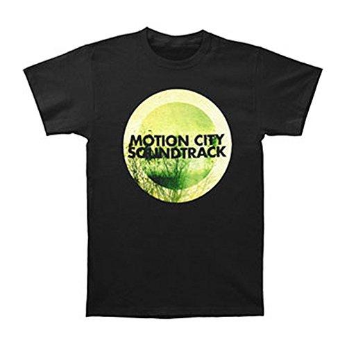 Rockabilia Motion City Soundtrack Men's GO Album Logo Slim Fit T-shirt X-Large - Soundtrack Apparel Motion City