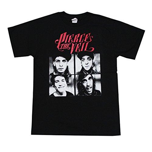 PIERCE The Veil Rock Band Graphic T-Shirt (Medium)