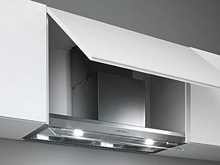 Falmec Design Campana extractora empotrada VIRGOLA-Empotrada 60cm: Amazon.es: Hogar
