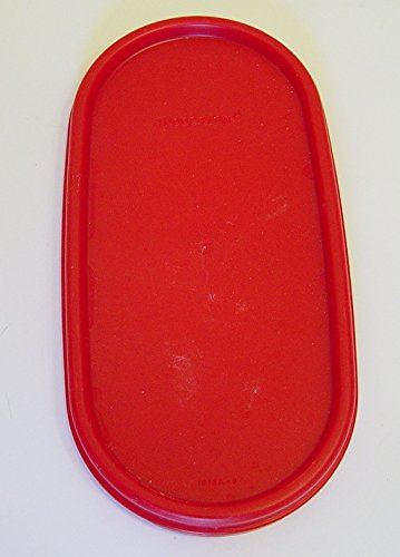 Tupperware Modular Mates Oval Red Lid Replacement 1616