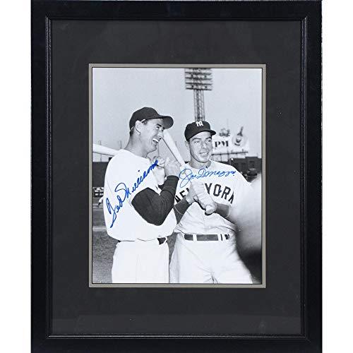 - Ted Williams & Joe DiMaggio Framed Autographed 11