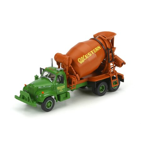 Western Concrete (HO RTR Mack B Cement Truck, Western Concrete ATH93176)
