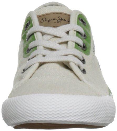 Pepe Jeans London BTJ-271 B1 - Zapatillas de lona infantil verde - Grün (Green)