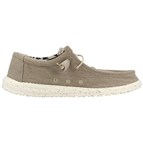 Hej Killen Mens Wally Stretch Textil, Minne Skum Loafers Beige