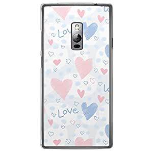 Loud Universe OnePlus 2 Love Valentine Printing Files Valentine 167 Printed Transparent Edge Case - Multi Color