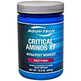 BodyTech Critical Aminos XT Intra/Post Workout Fruit Punch Supports Muscle Recovery (16 Ounce Powder) Review