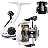 LONPAR Spinning Fishing Reel Double Worm Shafts 9+1 BB...