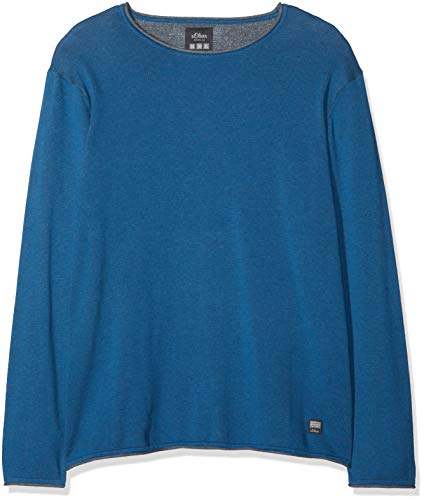 Size 5435 prussian S oliver Blau Jersey Hombre Para Big Blue x0zpO6znE