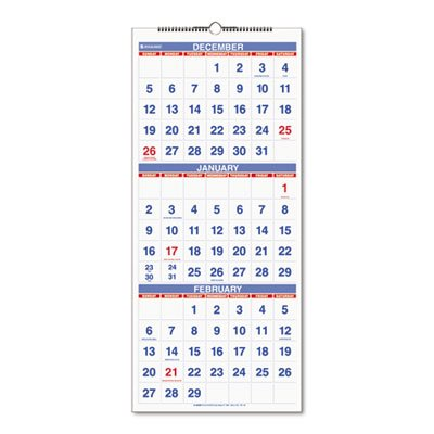 Reference Wall Calendar, 12