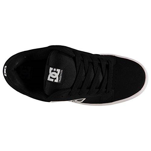 DC Serial Graffik Skate Scarpe da uomo nero/grigio casual scarpe sneakers