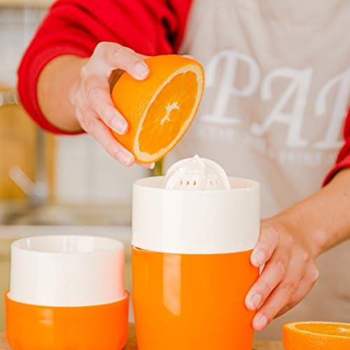 Gankmachine Manual de limón Exprimidor portátil multifunción Mini Exprimidor de Fruta Dan el limón Naranja exprimidor de la Capacidad Grande