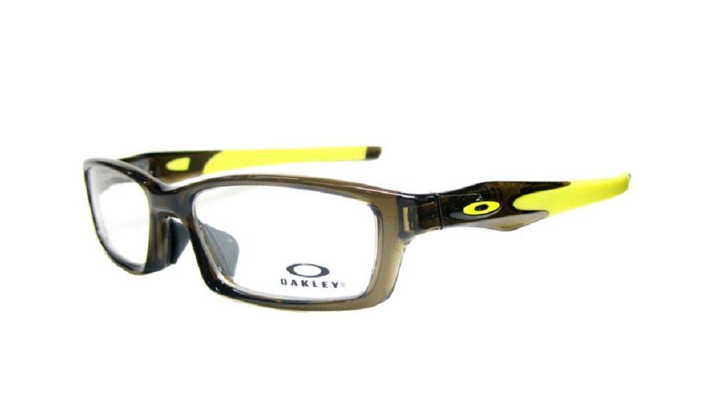 オークリー OAKLEY メガネ フレーム CROSSLINK クロスリンク OX8118-0756 バーク(クリアブラウン)/レモンピール B01MYWRB8I, 福岡江久母 fe0d9ac4