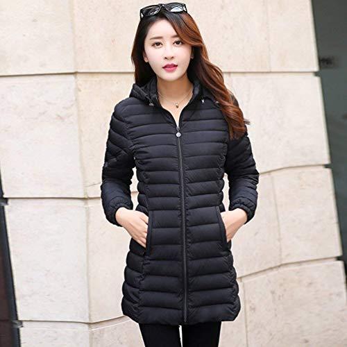 Eleganti Piumini Colore Coat Fashion Invernali Prodotto Lunga Donna qtRwg7gp