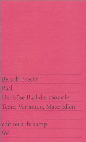 baal-der-bse-baal-der-asoziale-texte-varianten-materialien-edition-suhrkamp