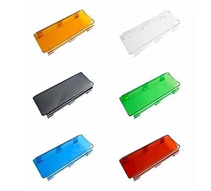 Amber Lens Cover for TOTRON® DC//DCS Light Bars TPLC-12-B