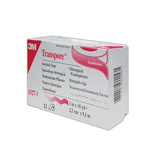 (3M 30707387065950 Transpore Surgical Tape, 1