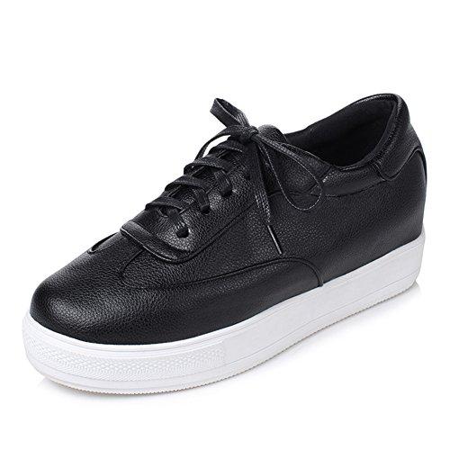 Primavera zapatos profunda boca/zapatos de altura el aumento/Zapatos ocasionales del estudiante A