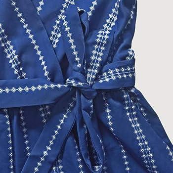 ETCYY Womens Summer V Neck Argyle Striped Short Sleeve Short Jumpsuit Rompers with Belt
