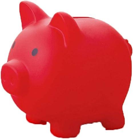 YUHUANG Alcancía, Caja de Dinero de Cerdo en Forma de Hucha ...