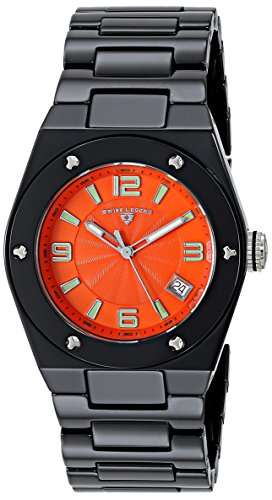 Swiss Legend Throttle (Swiss Legend Women's 10054-BKOTSA Throttle Analog Display Swiss Quartz Black Watch)