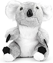 Golf Club Headcover Plush Fabric Golf Koala Shape Putter Wooden Pole Headcover Protective Cover for Golfer Clu