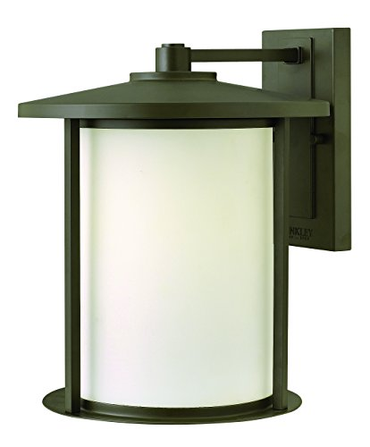 Hinkley 1915OZ Craftsman/Mission One Light Wall Mount from Hudson collection in Bronze/Darkfinish, (Hinkley Hudson)