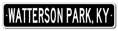 Custom Aluminum Sign WATTERSON PARK, KENTUCKY US City and State Name Sign