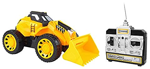 World Tech Toys Titan Elite Front End Loader Electric RC Construction Vehicle - Case Front End Loaders