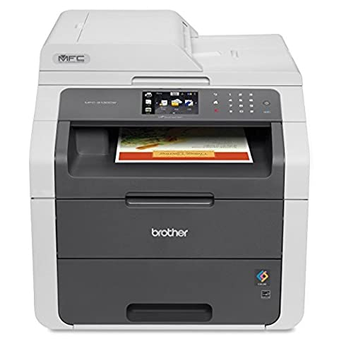 Brother MFC9130CW Wireless All-In-One Printer with Scanner, Copier and Fax, Amazon Dash Replenishment (Scanner Copy Printer)
