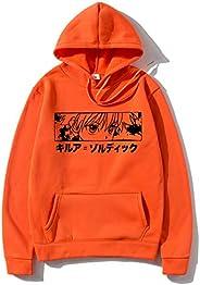 Japanese Anime Hunter X Hunter Killua Eyes Leorio Kurapika Gon Hisoka Pullover Sweatshirt Fashion Hip Pop Stre