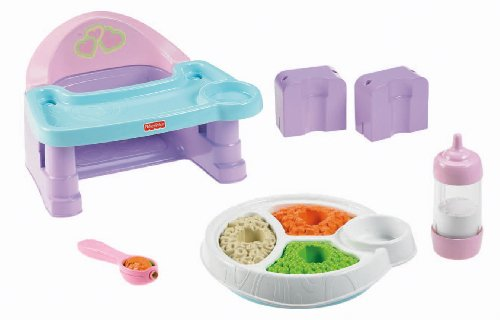 Fisher-Price Servin' Servin' Surprises High Chair Set