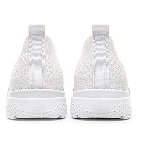 Women Sports Walking Running on Slip Athletic Wonvatu Sneakers Fashion Shoes White Lightweight w7qvcBE
