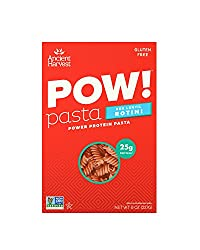 Ancient Harvest Pow! Gluten-free Rotini Pasta, Red Lentil & Quinoa, Pack Of Six (6) 8 Ounce Boxes, A Source Of Protein & Fiber