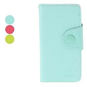 MOFY- Estilo simple PU Funda de cuero con soporte y ranura de la tarjeta para el Avance de Samsung Galaxy S I9070 (colores surtidos) , Rose