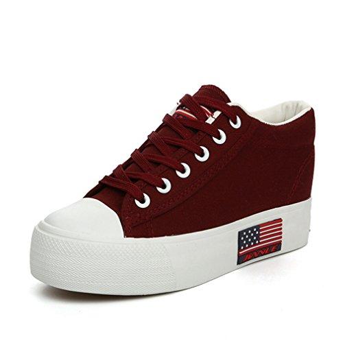 JRenok JRenok JRenok Mujer Rojo Mujer Zapatillas Zapatillas Zapatillas Mujer Rojo RBwng