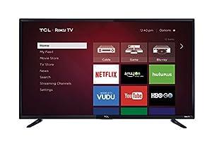 TCL 48FS3750 48-Inch 1080p Roku Smart LED TV (2016 Model)