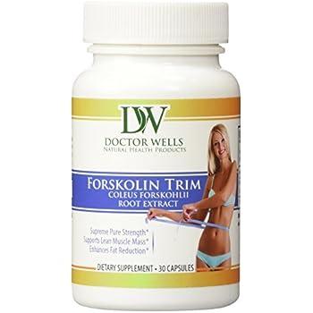 COLEUS FORSKOHLII EXTRACT PURE FORSKOLIN 90 Capsules PREMIUM 100% Pure Forskolin Capsules 250 mg, Forskolin Extract. 100% NATURAL, NON GMO, GLUTEN FREE! (60 Count) (6 Bottles)