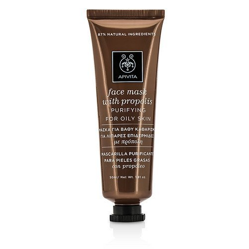 - Apivita by Apivita Face Mask with Propolis - Purifying (For Oily Skin) --50ml/1.81oz for WOMEN ---(Package Of 3)