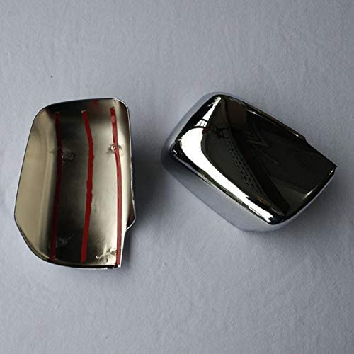 WOVELOT Side Door Rearview Mirror Cover Trims Car Accessories Fit for X-Trail 2008-2013