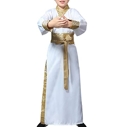 (uirend Ancient Knights Performance Costumes - Hanfu Children Stage Show Cosplay)