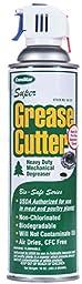 ComStar 55-121 Super Grease Cutter - Heavy Duty Mechanical Degreaser, 20 oz. Aerosol Trigger Spray, White