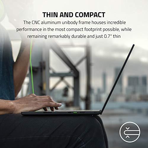 Razer Blade 15 Gaming Laptop 2020: 15,6 Zoll Full-HD 300Hz Profi Modell, Intel Core i7 10th Gen, NVIDIA GeForce RTX 2070 Super, 16GB RAM, 512GB SSD, Chroma RGB Beleuchtung | Qwertz DE-Layout