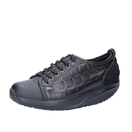MBT Sneakers Donna 37 EU Nero Pelle Camoscio