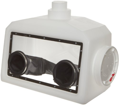 Bel-Art Portable Glove Box System with Gloves and Clamping Rings; 27 x 13 x 22 in. (H50028-2000)