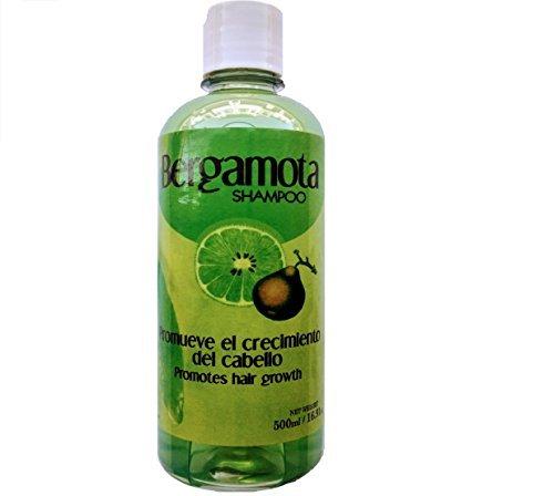 Bergamot Shampoo 500ml, Shampoo de Bergamota 500ml. Hair Regrowth Shampoo by Bergamota